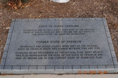 State of North Carolina marker image. Click for full size.