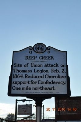 Deep Creek Marker image. Click for full size.