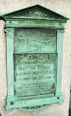 Site of First Milwaukee County Courthouse Marker image. Click for full size.
