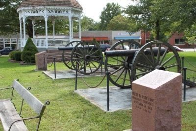 Marker Stones and Cannons image. Click for full size.