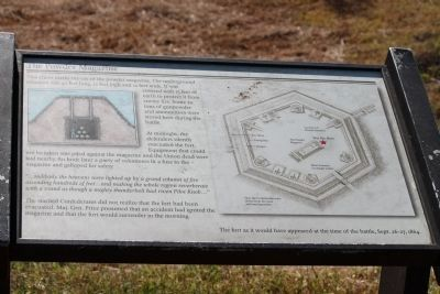 The Powder Magazine Marker in 2010 image. Click for full size.