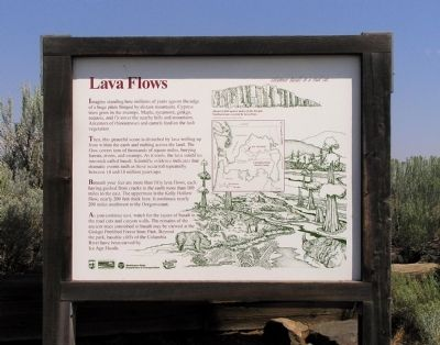 Lava Flows Marker image. Click for full size.
