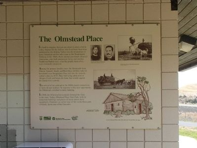 The Olmstead Place Marker image. Click for full size.