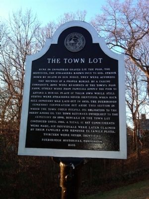 The Town Lot Marker image. Click for full size.