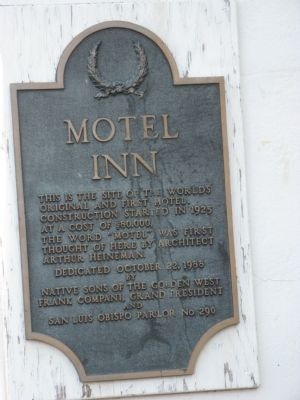 Motel Inn Marker image. Click for full size.