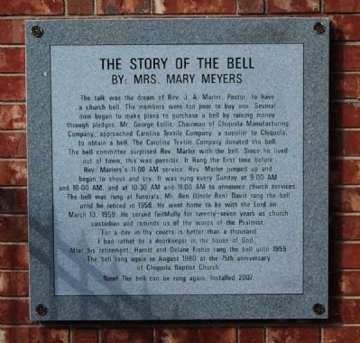 The Story of the Bell Marker image. Click for full size.