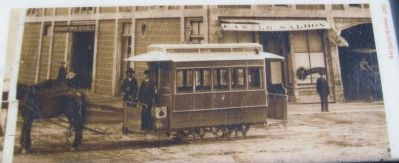 The Horse-drawn Streetcar image. Click for full size.