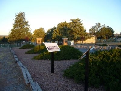 Entrance to Fort Bayard National Cemetery image. Click for full size.