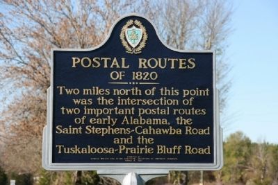 Postal Routes of 1820 Marker image. Click for full size.