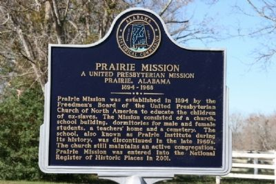 Prairie Mission Marker image. Click for full size.