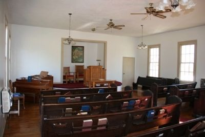 Sanctuary of The Prairie Mission Presbyterian Church image. Click for full size.
