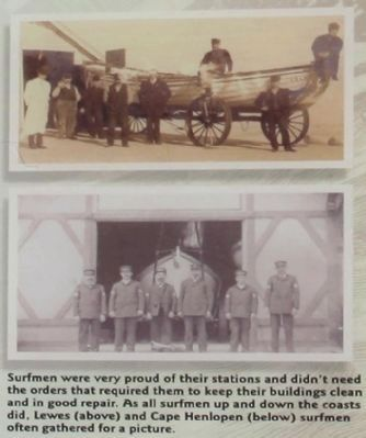 Life Saving Station Marker image. Click for full size.