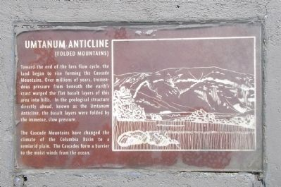 Detail of the Umtanum Anticline (Left) plaque image. Click for full size.
