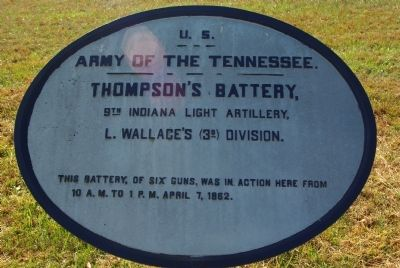 Thompson's Battery Marker image. Click for full size.