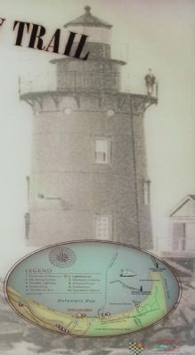 Lighthouses Marker, background picture image. Click for full size.