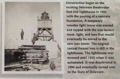 Lighthouses Marker image. Click for full size.