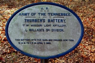 Thurber's Battery Marker image. Click for full size.