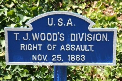 T. J. Wood's Division. Marker image. Click for full size.
