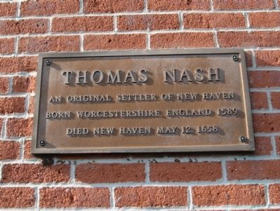 Thomas Nash Marker image. Click for full size.