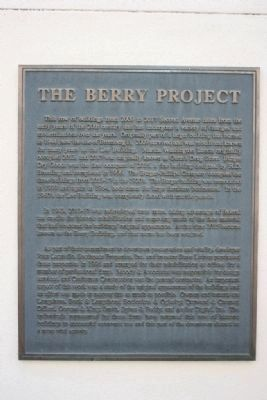 The Berry Project Marker image. Click for full size.