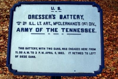 Dresser's Battery Marker image. Click for full size.
