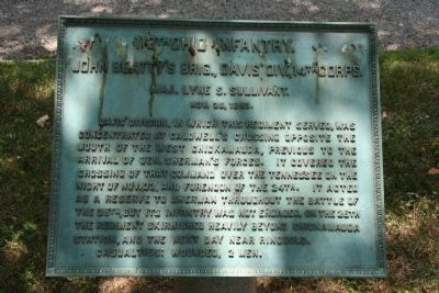 113th Ohio Infantry. Marker image. Click for full size.