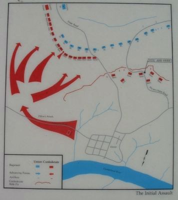 Map of the Confederate Breakout image. Click for full size.