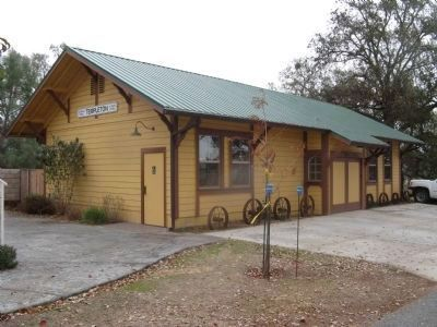 The Templeton Train Depot image. Click for full size.