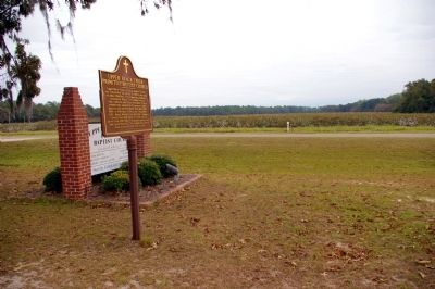 Upper Black Creek Primitive Baptist Church Marker image. Click for full size.