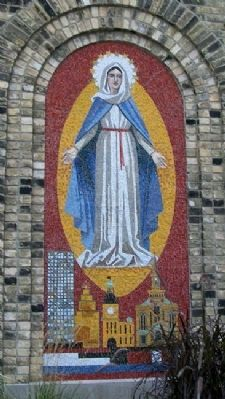 Old St. Mary's Church Mosaic image. Click for full size.