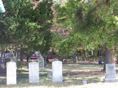 Griffith's Chapel Cemetery image. Click for full size.