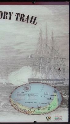 The War of 1812 Marker, Background picture image. Click for full size.