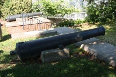 The War of 1812 Memorial Park cannon on display, 2 of several seen at the park image. Click for full size.