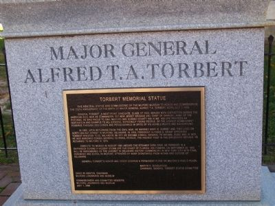 Major General Alfred T.A. Torbert Statue image. Click for full size.