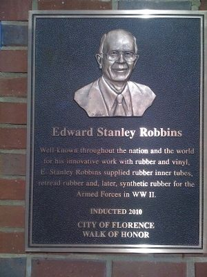 Edward Stanley Robbins Marker image. Click for full size.