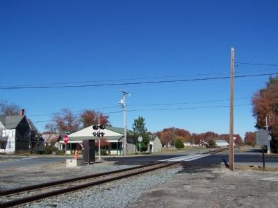 Ellendale's Railroad Square image. Click for full size.
