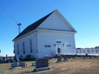 St. Johnstown Methodist Church and Cemetery image. Click for full size.