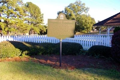 Cedar Lane Cemetery Marker image. Click for full size.