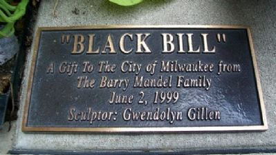 Black Bill Marker image. Click for full size.