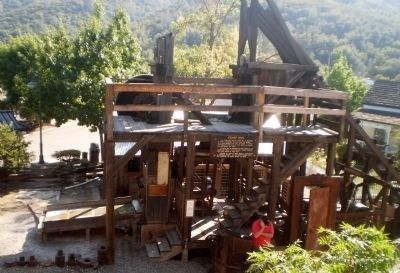 Golden Key Mine Stamp Mill image. Click for full size.