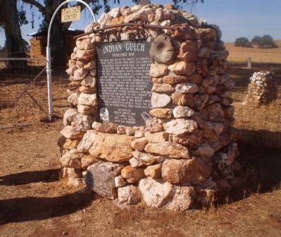 Indian Gulch Marker image. Click for full size.