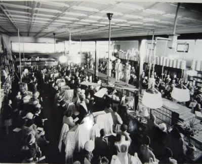 Interior of Jacome's Store – Late 1920's image. Click for full size.