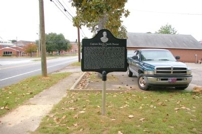 Captain Hardy Smith House Marker -- Side 2 image. Click for full size.