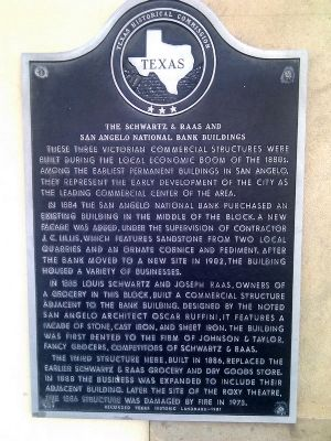Schwartz & Raas Building Marker image. Click for full size.