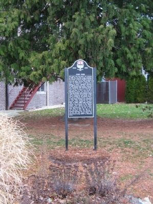 Cos Cob Marker image. Click for full size.