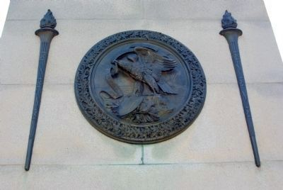 Illinois Memorial Marker image. Click for full size.