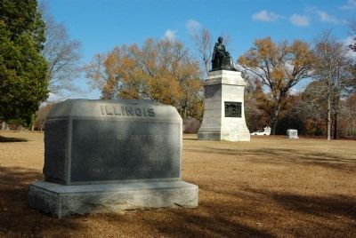 11th Illinois Infantry Marker image. Click for full size.