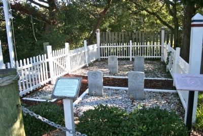 British Cemetery on Ocracoke Island image. Click for full size.
