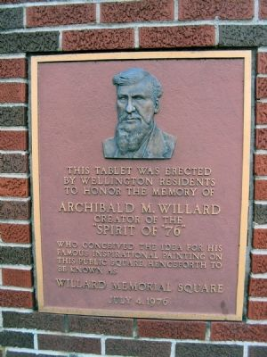 Archibald M. Willard Marker image. Click for full size.