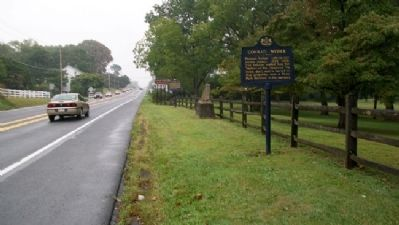Home and Grave of Conrad Weiser Marker image. Click for full size.